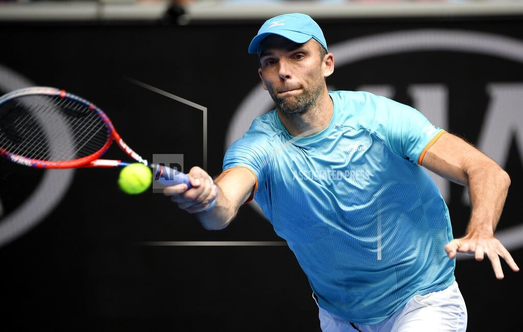 MELBOURNE, Australia | The Latest: Karlovic proud of his age records at Aussie Open