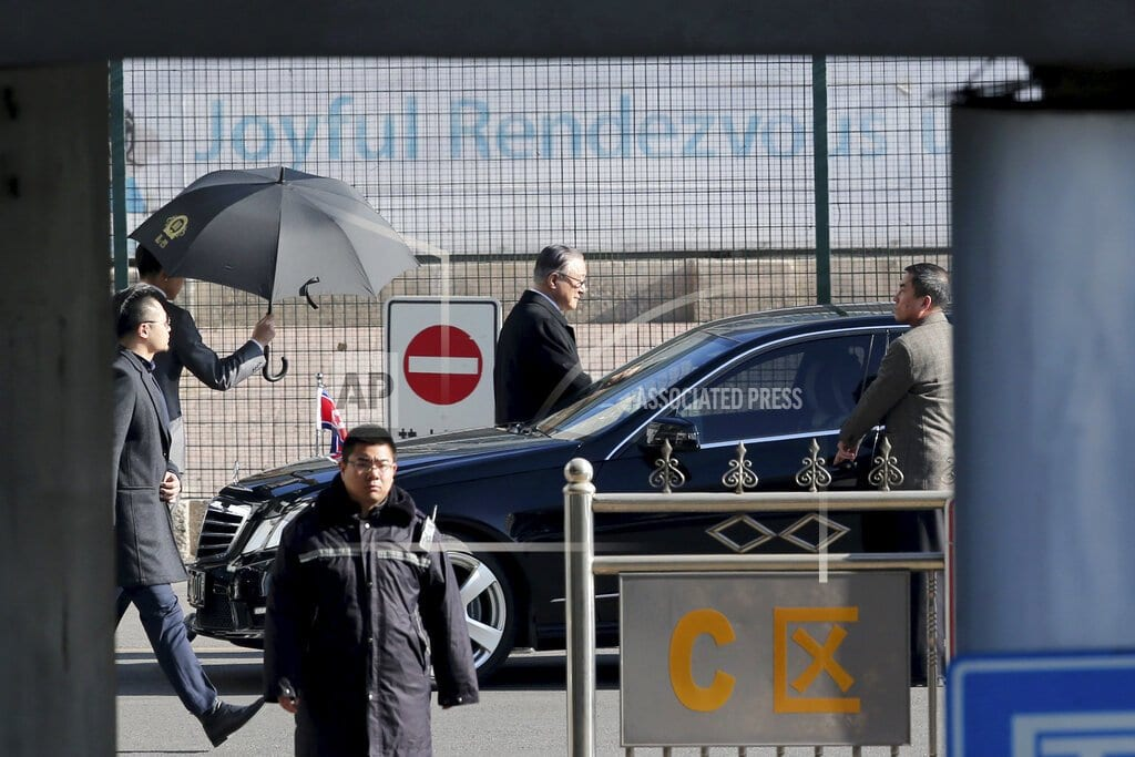 BEIJING | North Korean official reportedly heading to US for talks