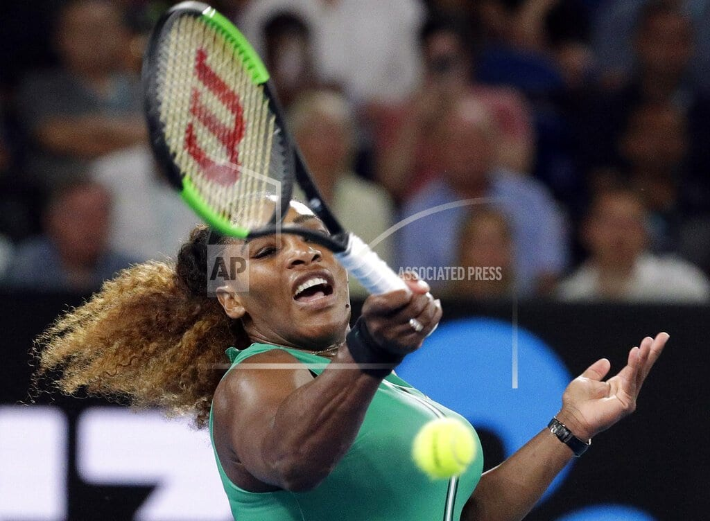 MELBOURNE, Australia | Ukrainian teen who plays Serena next saw this matchup coming