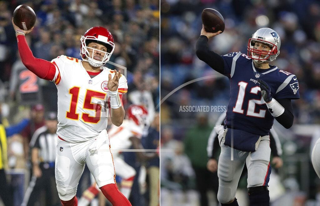 FOXBOROUGH, Mass | Underdog Patriots face top seed KC. Yes, you read that right