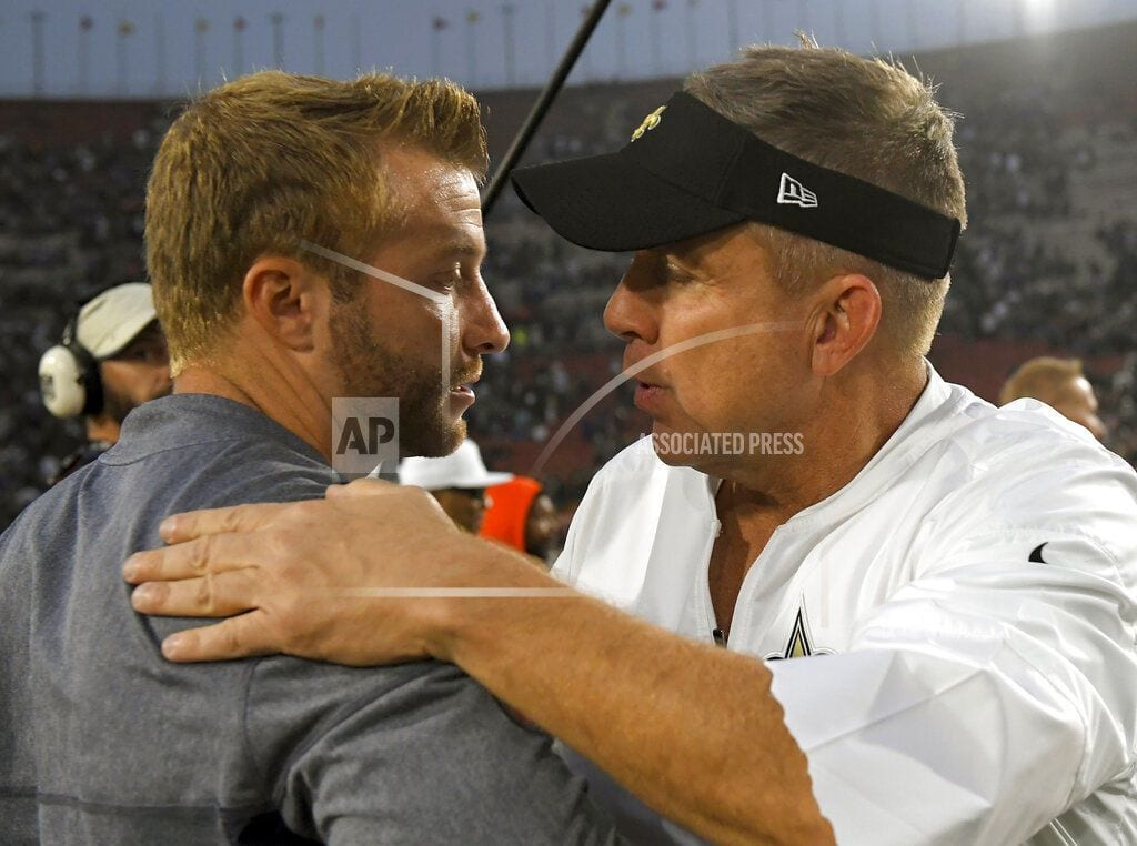 NEW ORLEANS | Saints-Rams NFC title game a clash of like-minded coaches