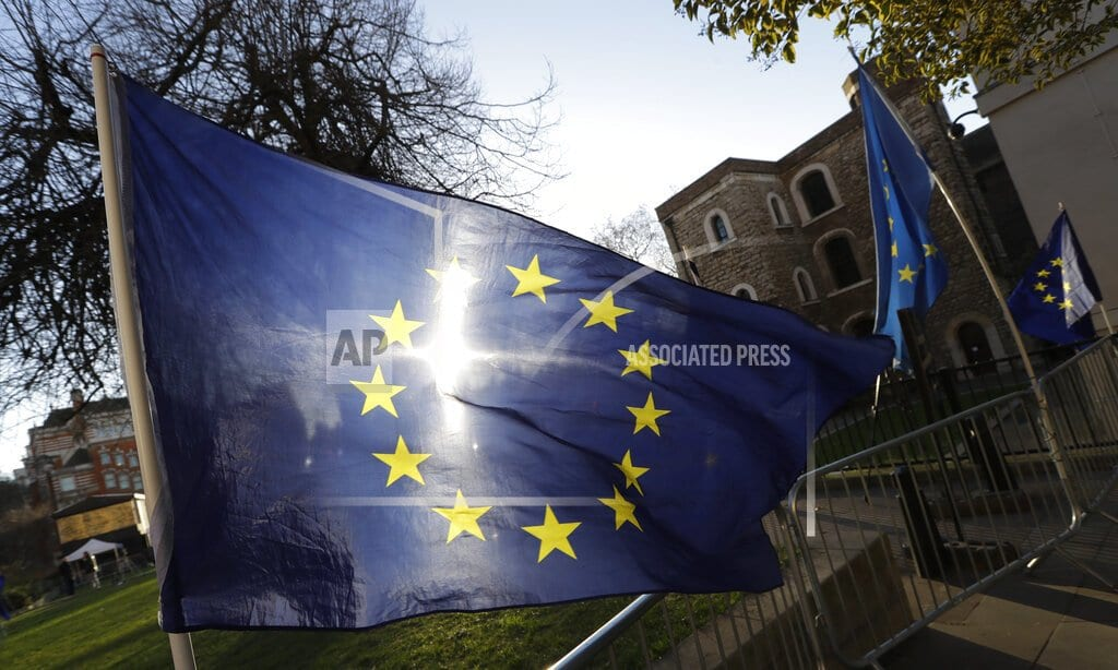 LONDON   The Latest: Austria suggests more time for Brexit possible