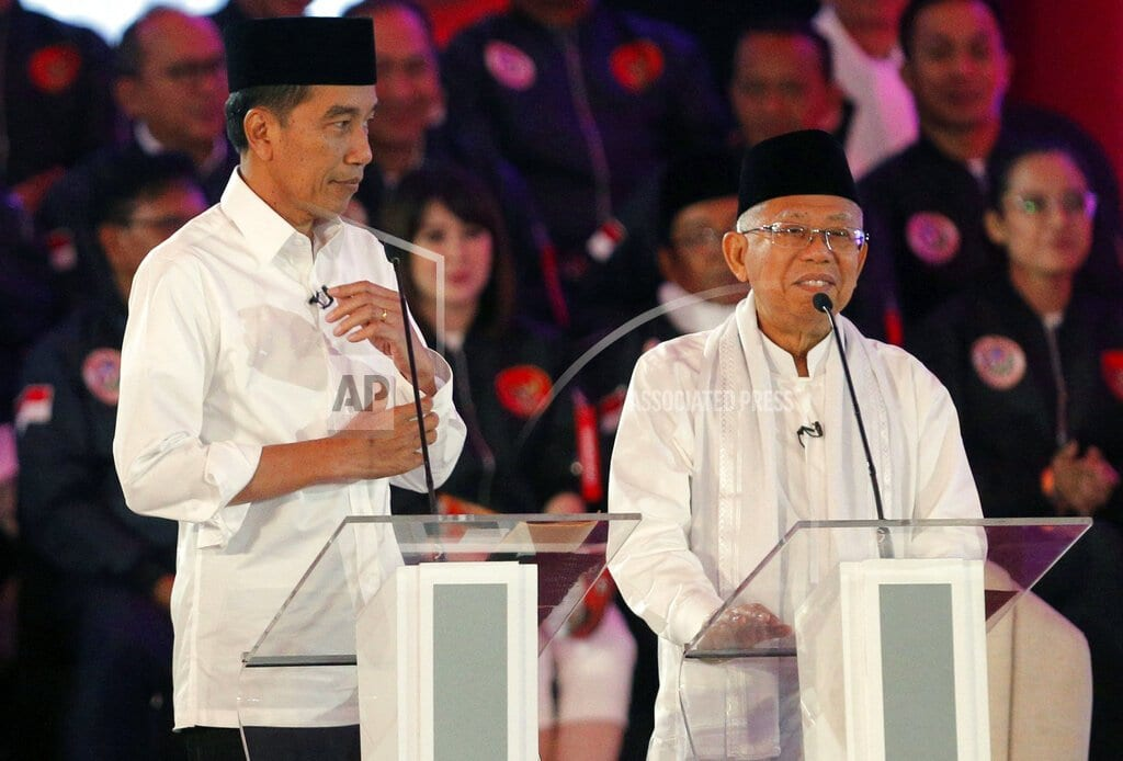 JAKARTA, Indonesia | Indonesian presidential candidates spar over corruption
