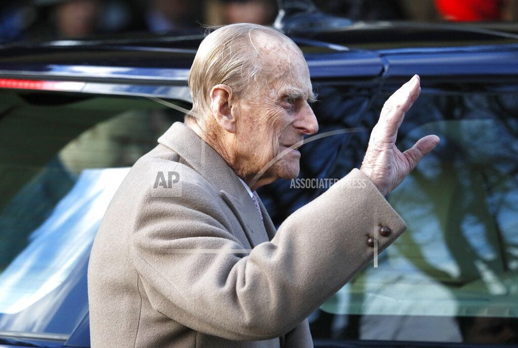 LONDON | Britain's Prince Philip, 97, recovers after Land Rover crash