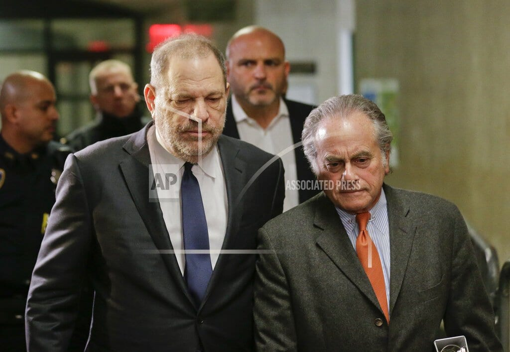 NEW YORK | Harvey Weinstein breaks with his criminal defense lawyer