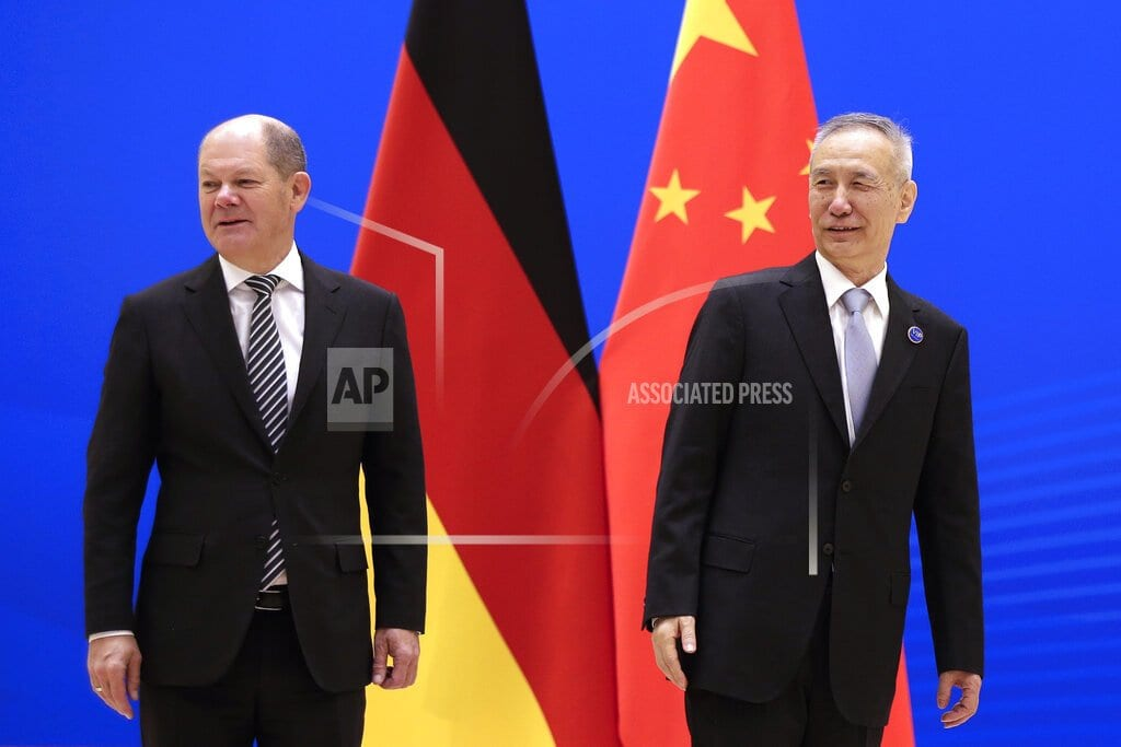 BEIJING | China, German promise closer financial cooperation
