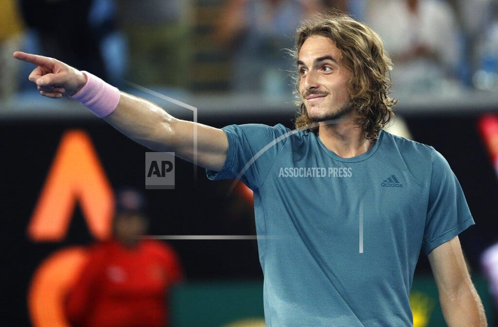 MELBOURNE, Australia | All Greek to him: Tsitsipas rides crowd support to 4th round