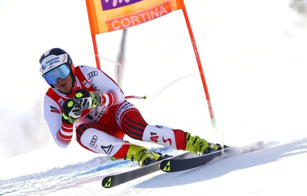 CORTINA D'AMPEZZO, Italy | Vonn 15th in return from injury as Siebenhofer wins downhill