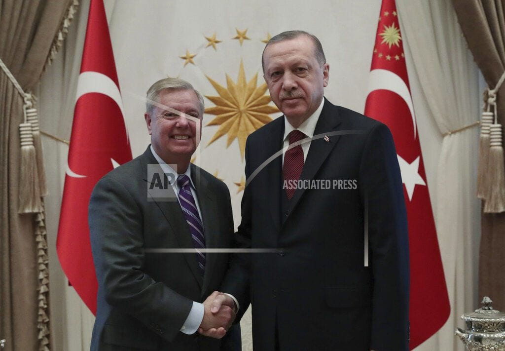 ANKARA, Turkey | Sen Graham: Syria withdrawal without plan can lead to chaos