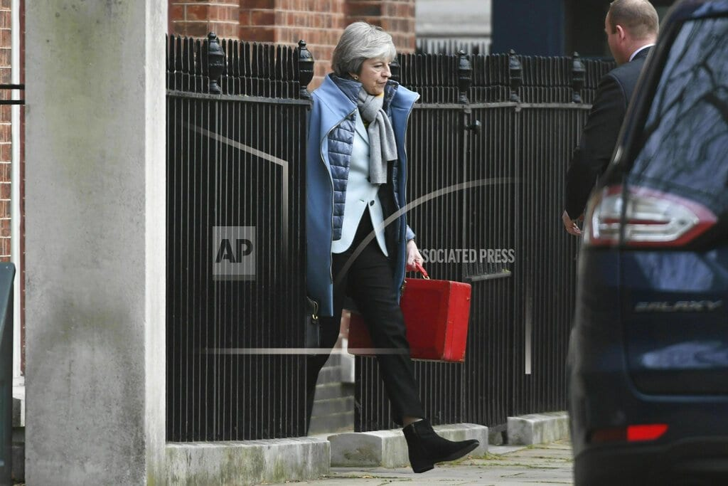 LONDON | The Latest: Poland suggests time limit on Irish backstop