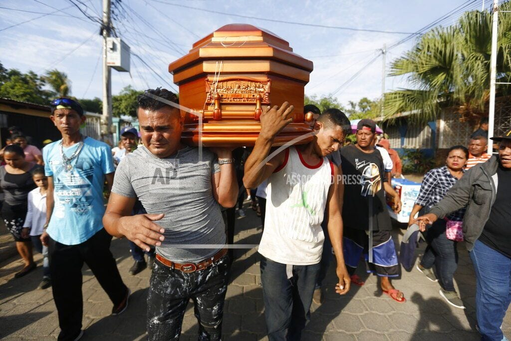 MEXICO CITY | Mothers of slain Nicaraguan students unite to seek justice