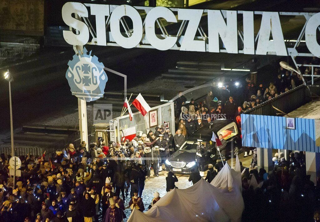 WARSAW, Poland   Polish, European officials to attend burial of slain mayor