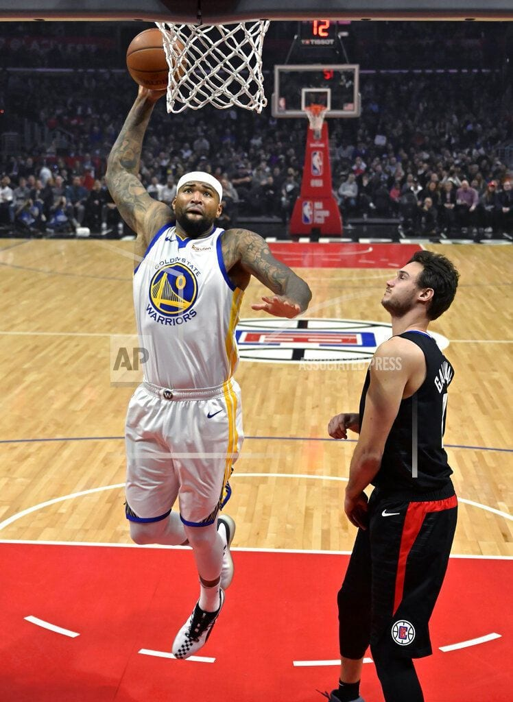 LOS ANGELES    Warriors beat Clippers 112-94; Boogie fouls out of debut