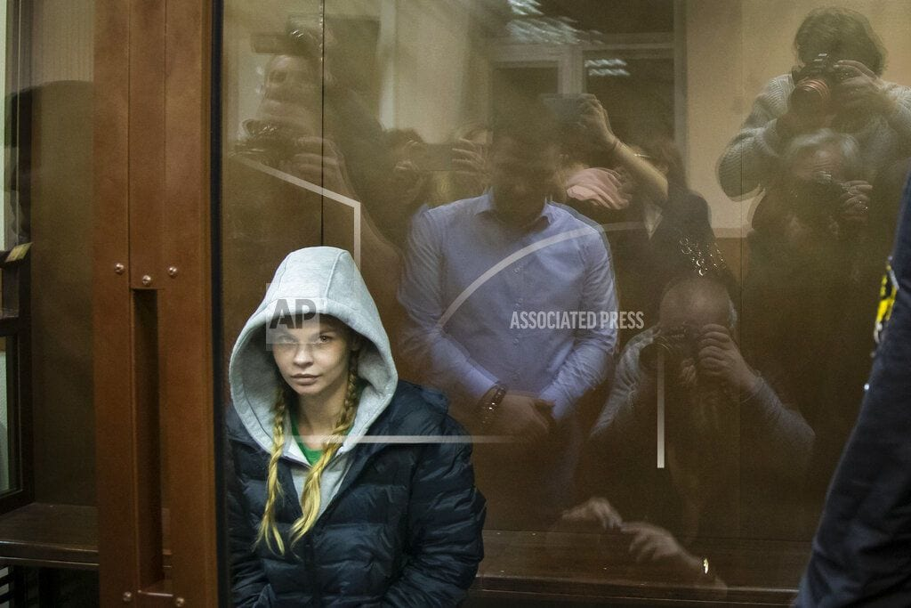 MOSCOW | Model who said she had dirt on Russian oligarch walks free