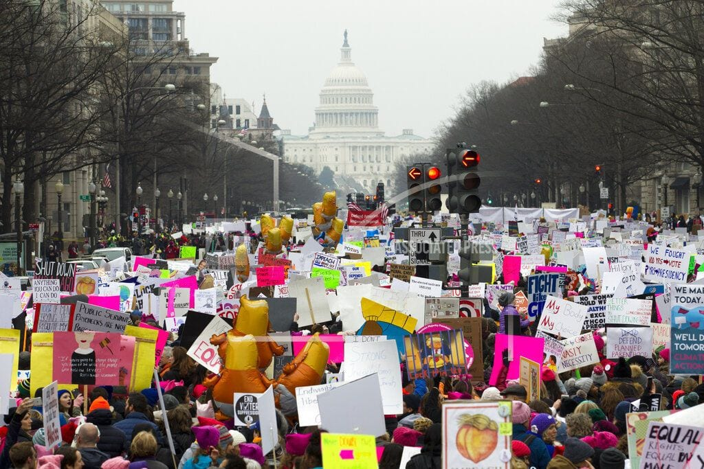 WASHINGTON | A scaled-down, but still angry, Women's March returns