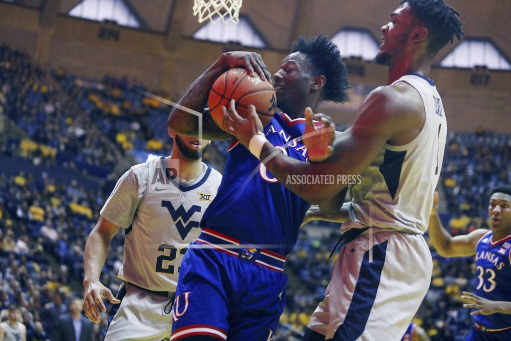 MORGANTOWN, W.Va.| Haley's layup lifts West Virginia over No. 7 Kansas 65-64