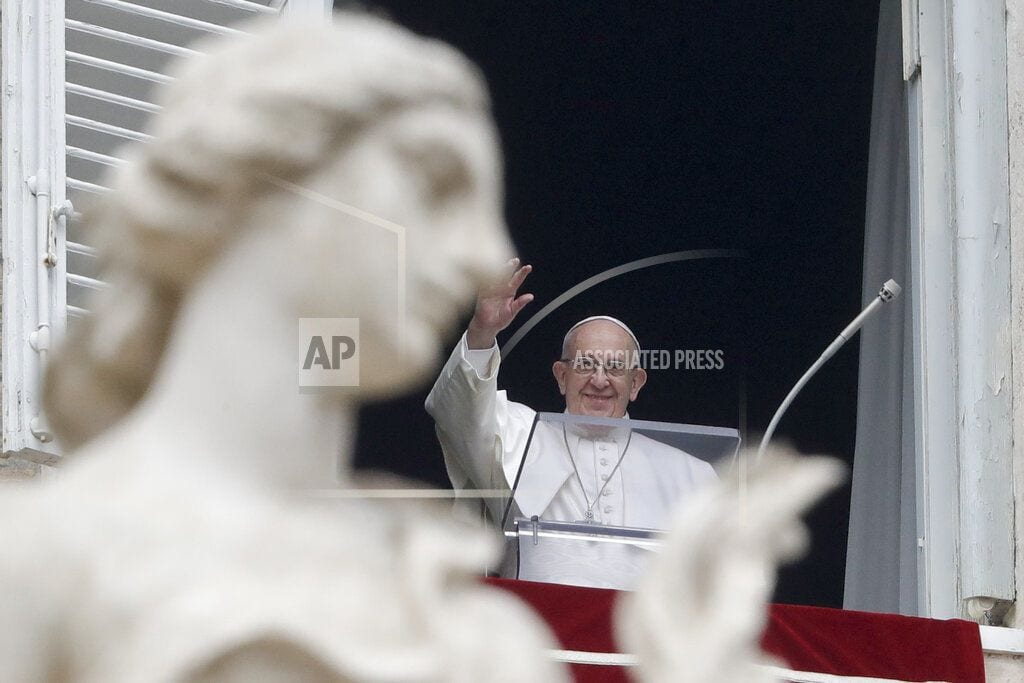 VATICAN CITY | Amid wall debate, pope says fear of migration makes us crazy