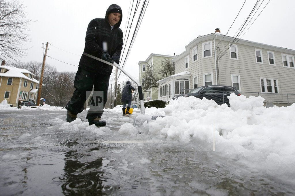 BOSTON | After storm, large swath of nation plunges into deep freeze