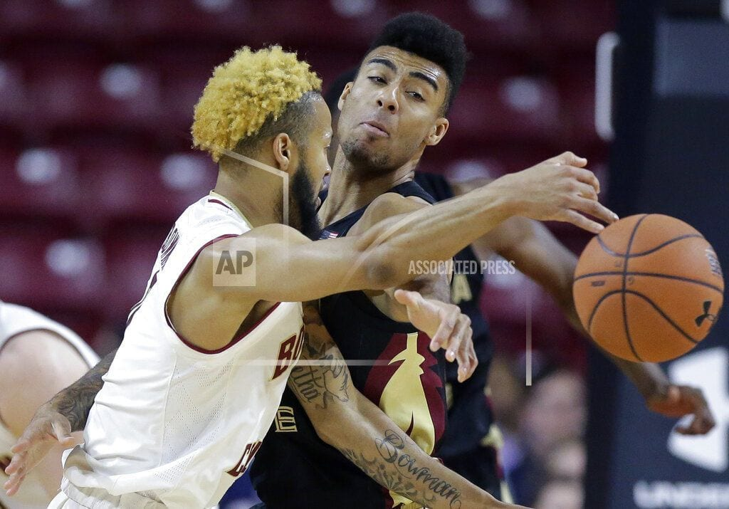 BOSTON | Bowman's 37 leads BC to 87-82 win over No. 11 Florida State