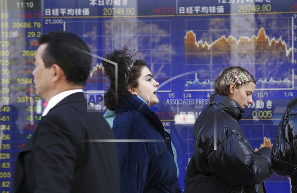 BANGKOK | Stocks subdued as Chinese growth hits weakest since '90