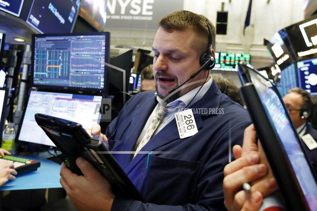 NEW YORK | US stocks climb after strong earnings; IBM leads Dow rally