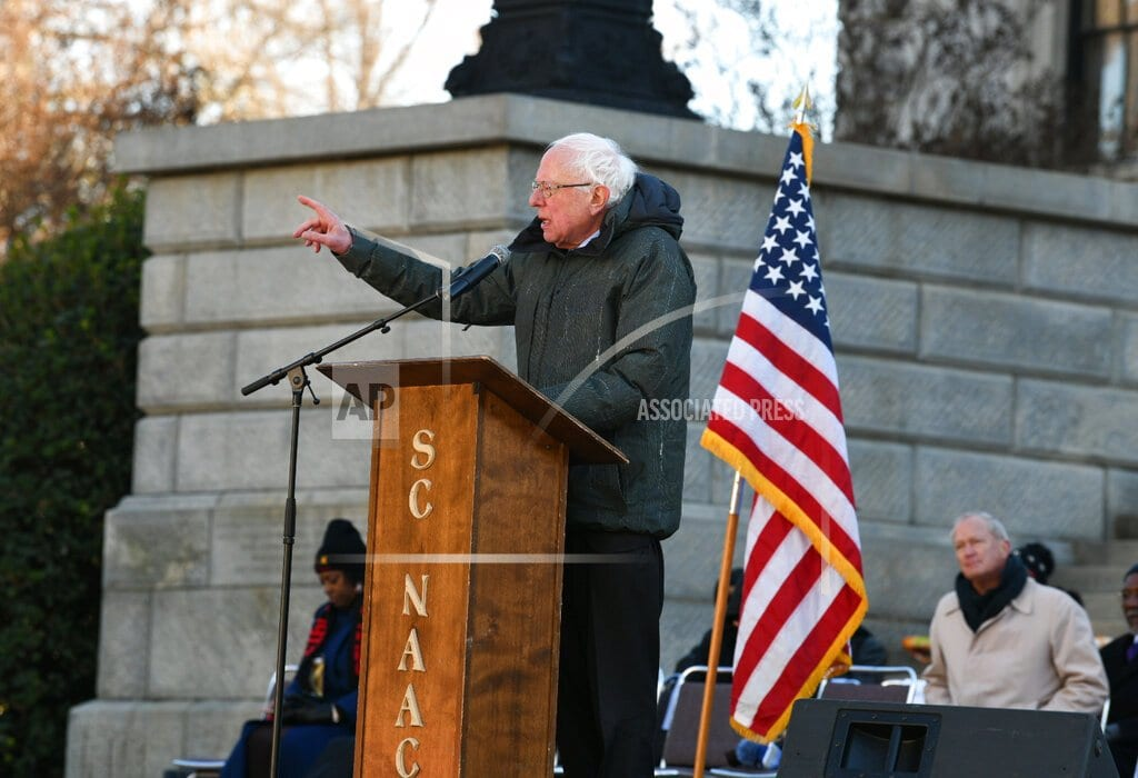 COLUMBIA, S.C | Sanders seeks to avoid another stumble with black SC voters