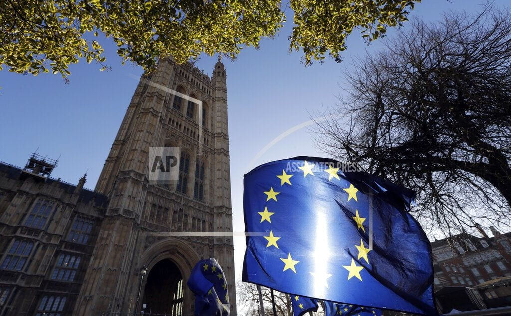 LONDON | The Latest: EU proposes no-deal Brexit fishing rules