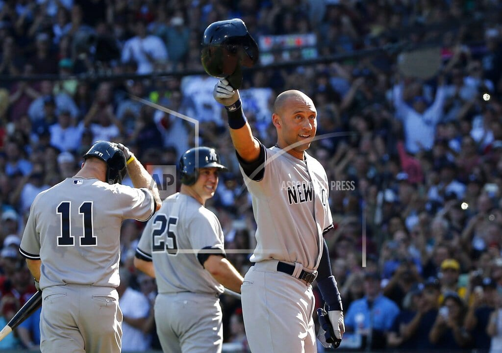 Next year it's Jeter's chance to join Rivera in the Hall