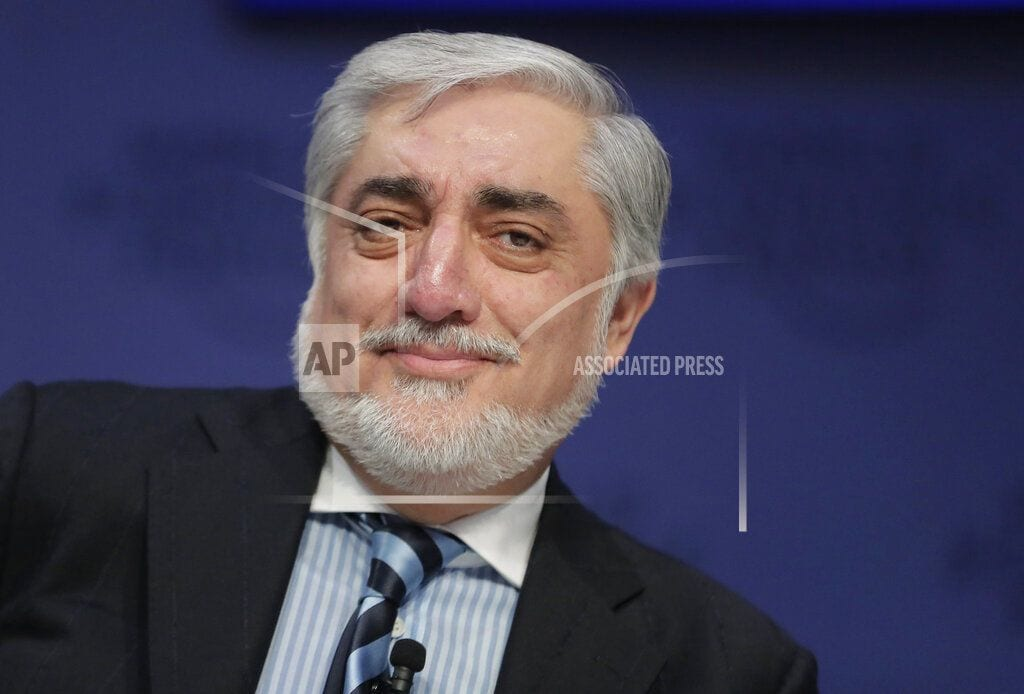 DAVOS, Switzerland | Afghan CEO urges patience amid talk of US troops withdrawal