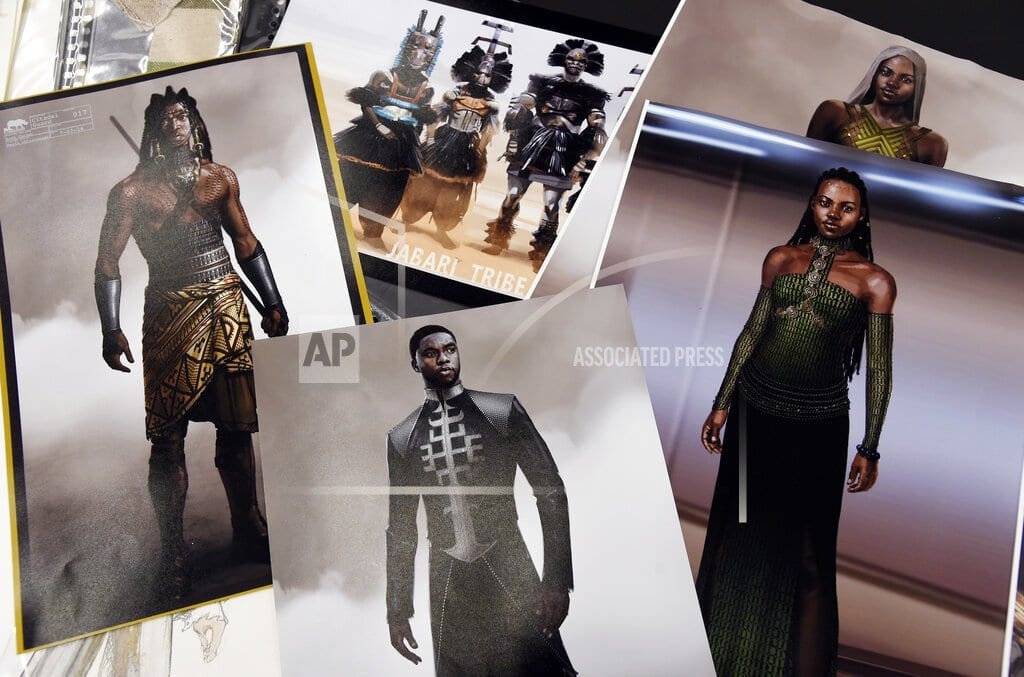 LOS ANGELES | 'Black Panther' costume designer blazes trail to inspire