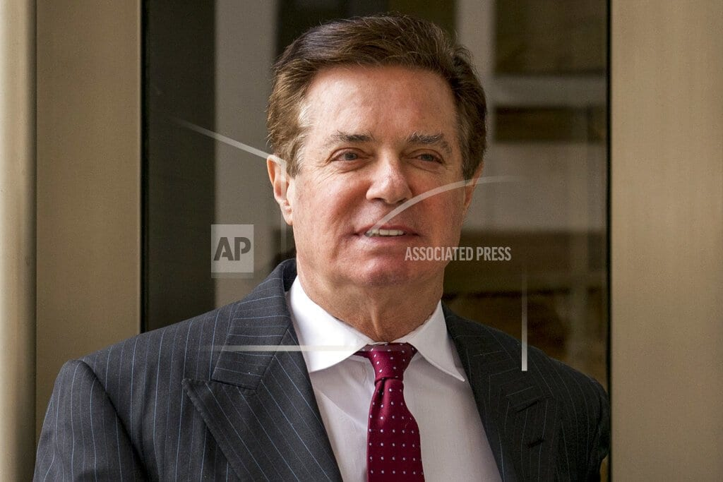 WASHINGTON | Court filing: Manafort faces more than 19 years in prison