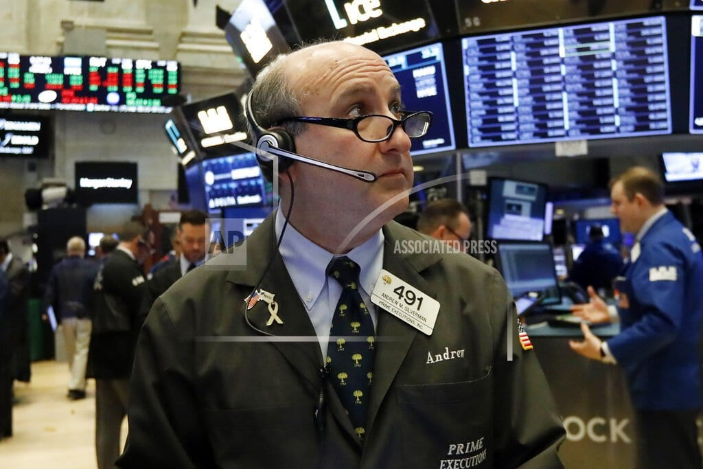 NEW YORK | Trade talk optimism pushes stocks higher in midday trading