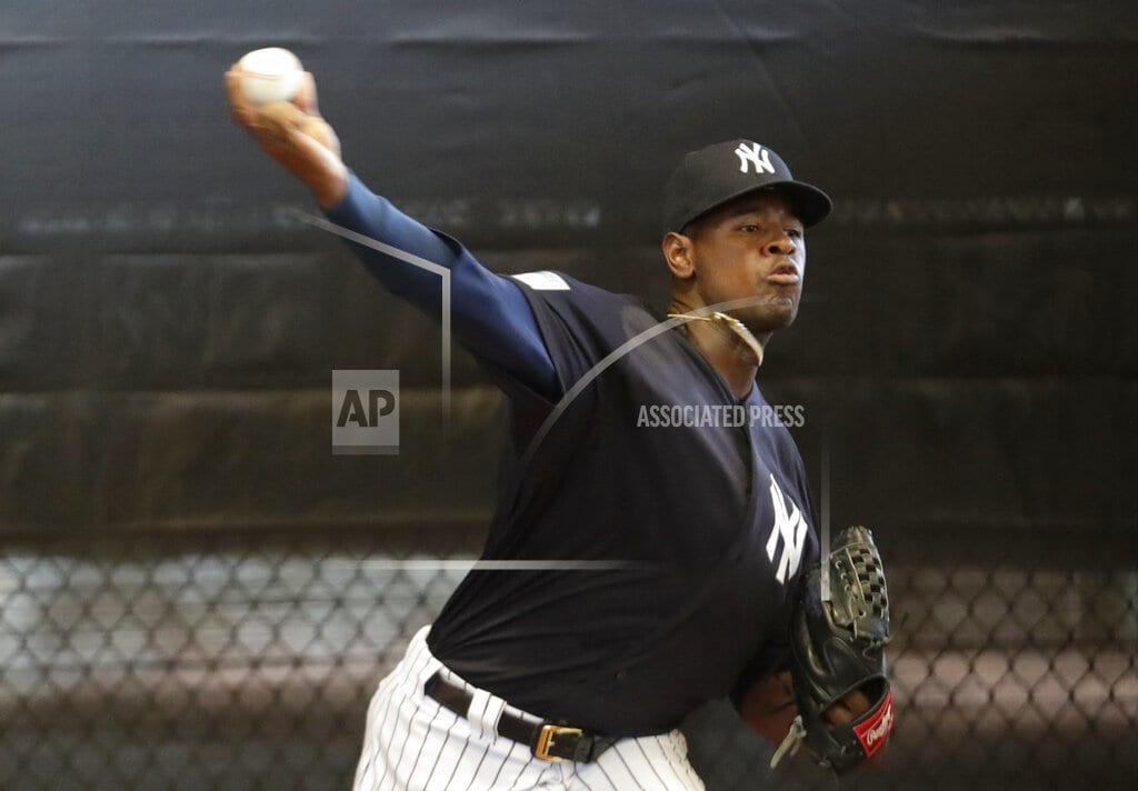 NEW YORK | Luis Severino, Yankees agree to $40M, 4-year contract