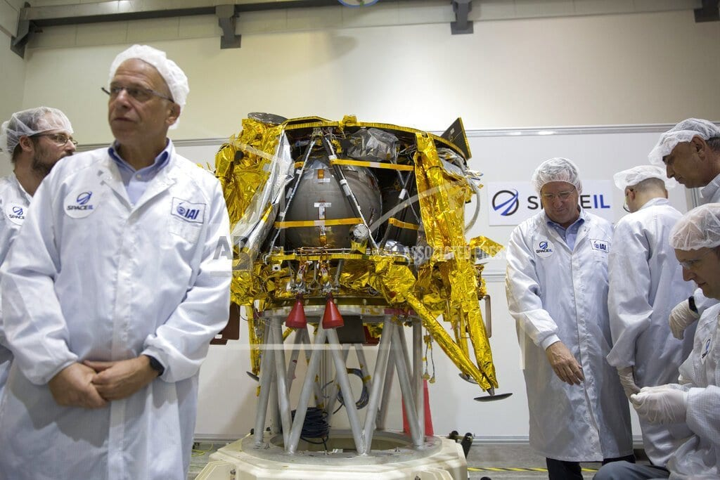 CAPE CANAVERAL, Fla | Israel flying to moon after SpaceX launch