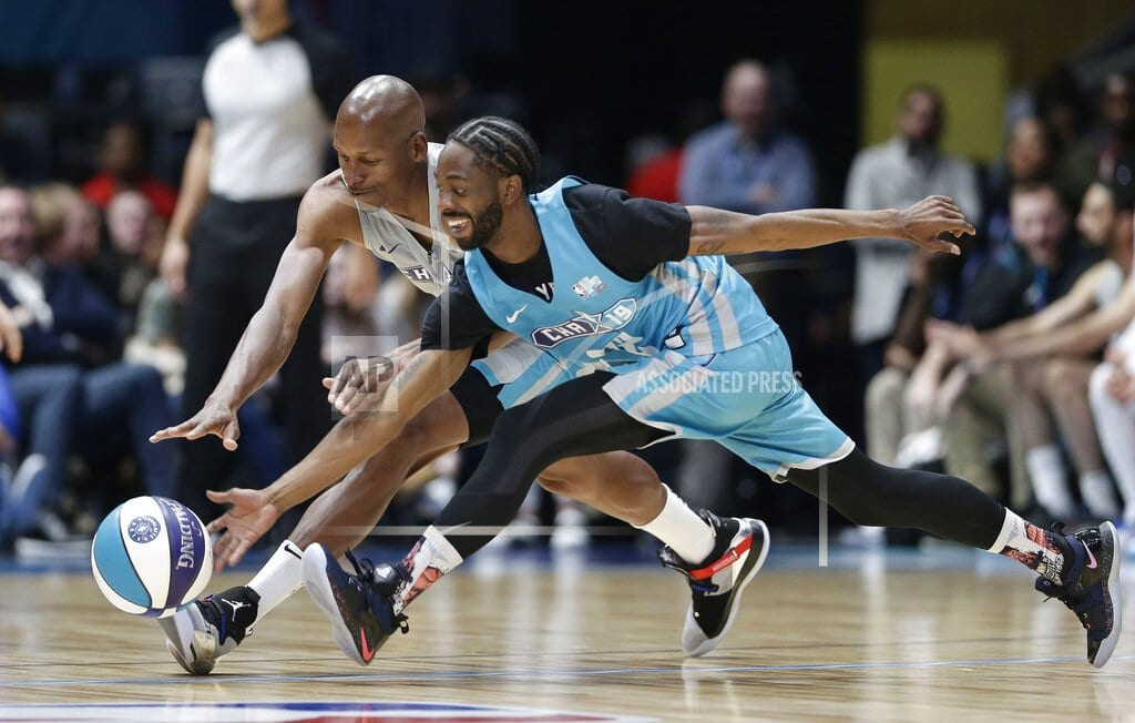 CHARLOTTE, N.C | The Latest: Famous Los scores 22, named celebrity game MVP