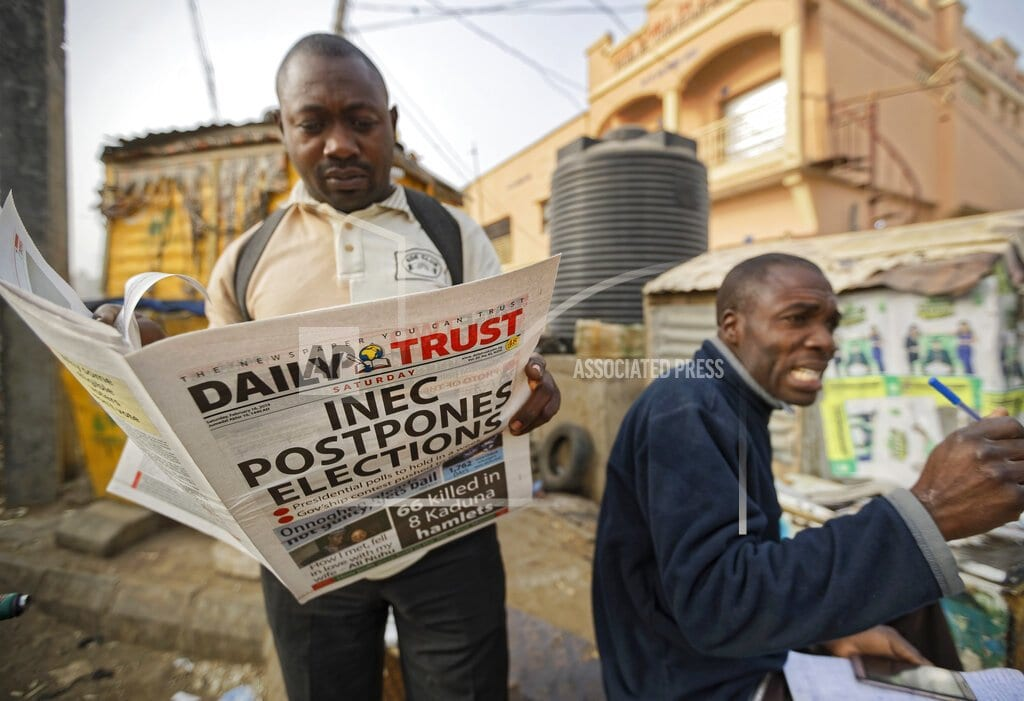 YOLA, Nigeria | Nigerians wake to find a delayed election, with some angry