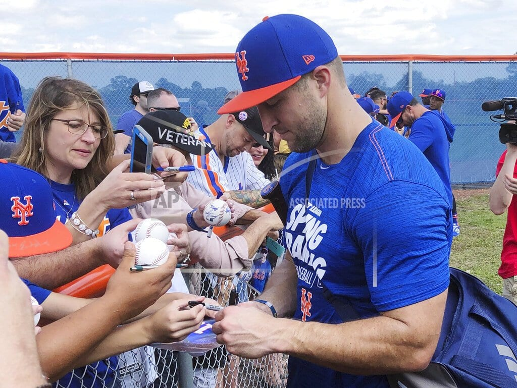 PORT ST. LUCIE, Fla | Game changer: Tebow enters Mets camp 'all in' on baseball