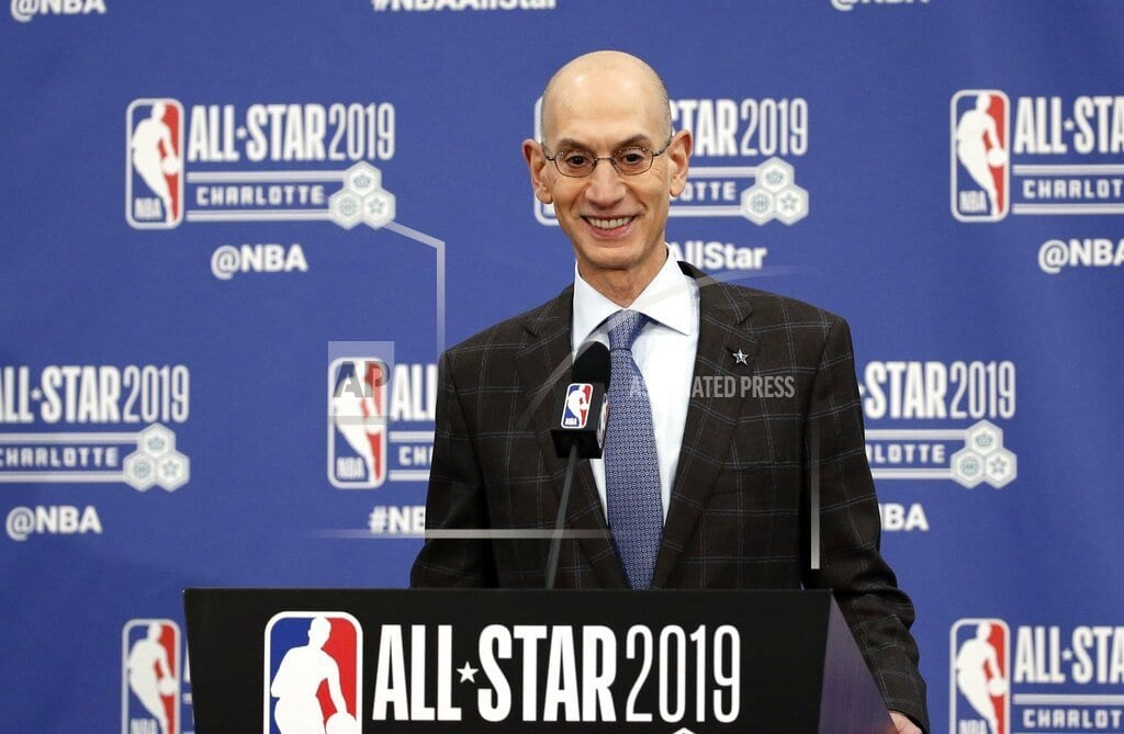 CHARLOTTE, N.C | Adam Silver's annual NBA address keys on competitive balance