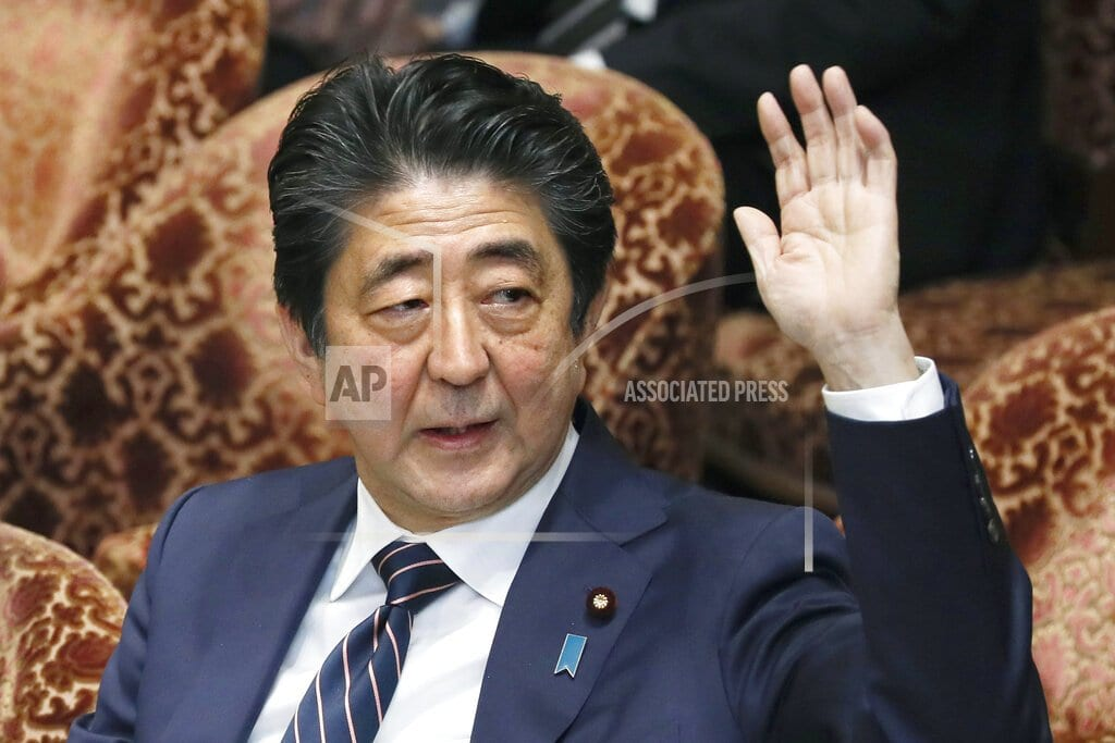 TOKYO | Abe mum on reports he nominated Trump for Nobel Peace Prize