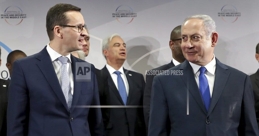 WARSAW, Poland | The Latest: Israel-Central Europe summit canceled