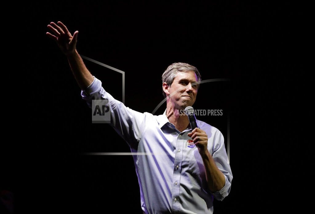 EL PASO, Texas | O'Rourke won't rule out being vice presidential candidate