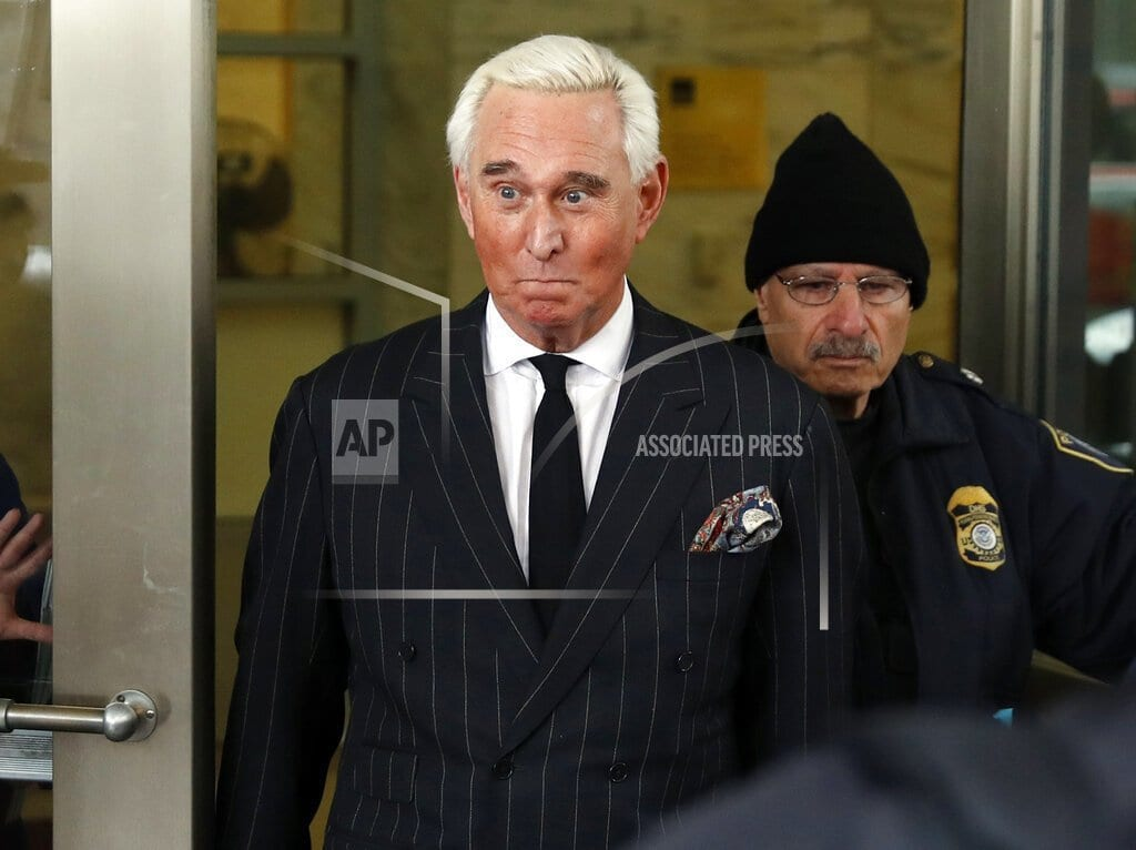 WASHINGTON | Judge orders Roger Stone to court over Instagram post