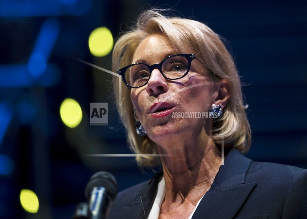 BOSTON | Dems say DeVos' deputy tried to influence internal inquiry