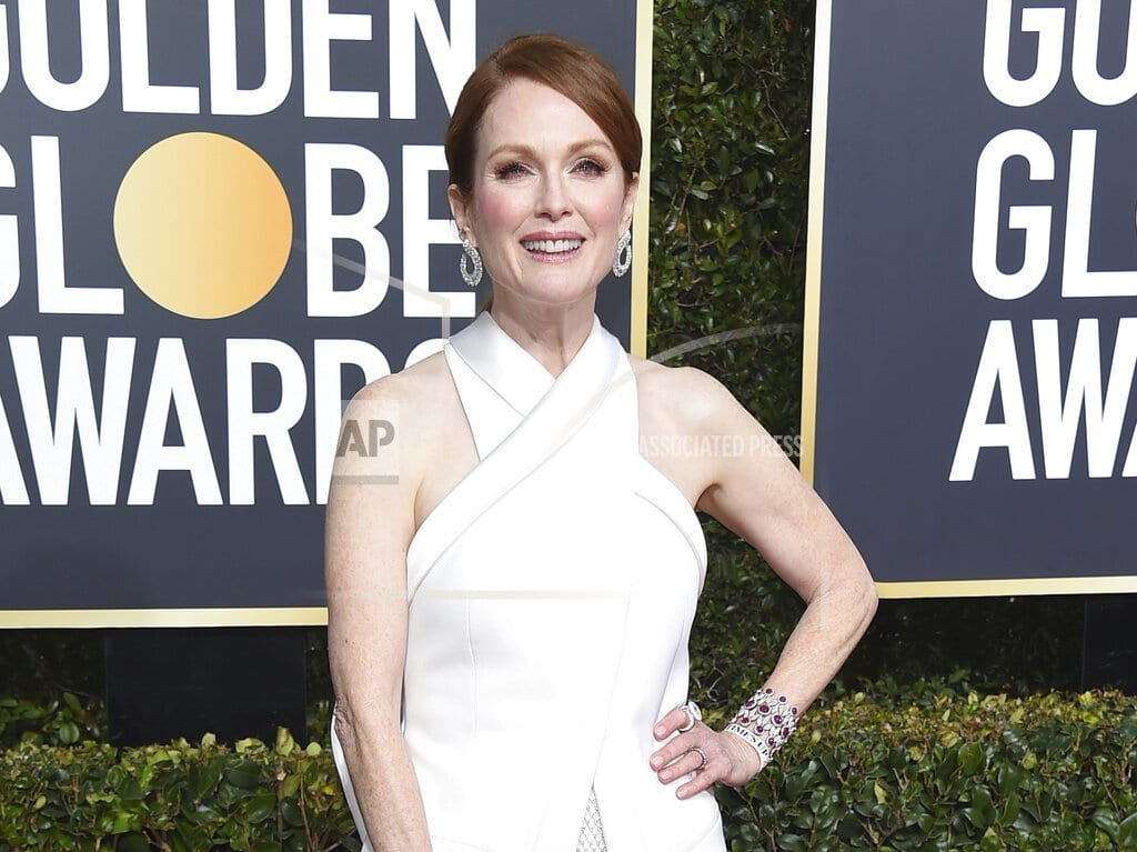 NEW YORK | Oscar-winner Julianne Moore helps unveil Cuomo initiatives