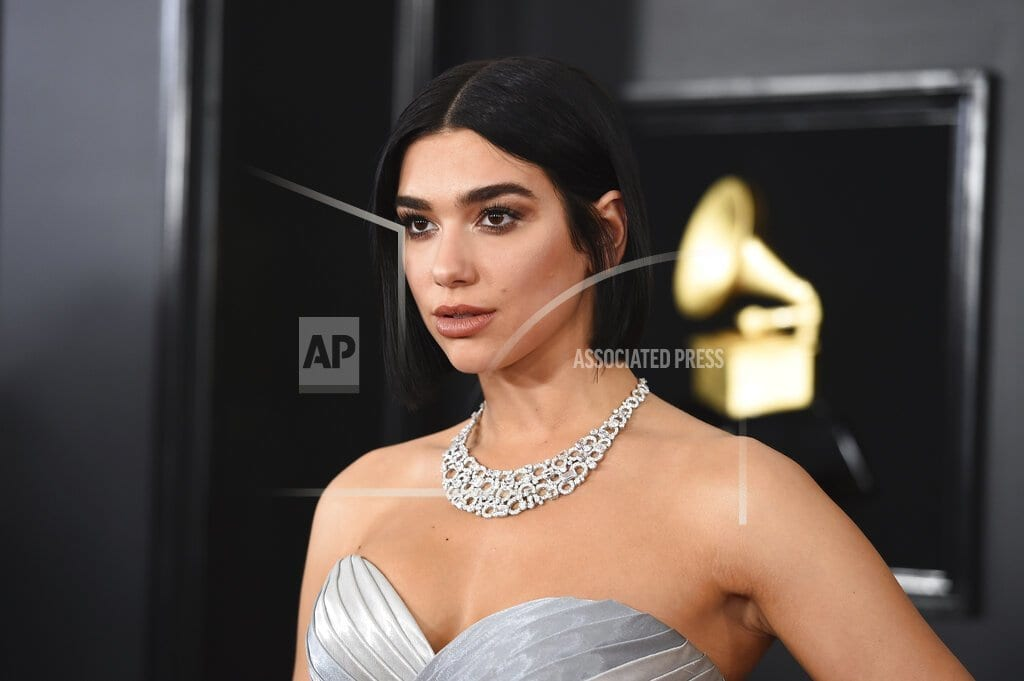 LONDON | Dua Lipa, Anne-Marie lead Brit Awards nominations