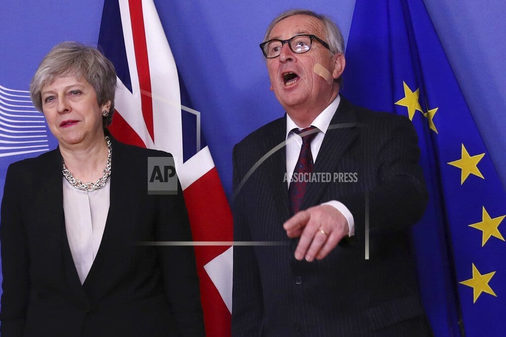 LONDON   Ireland publishes no-deal Brexit bill it hopes it won't need