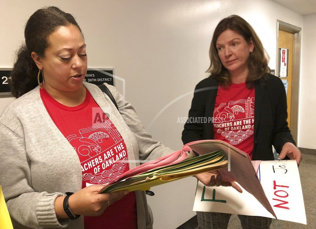 OAKLAND, Calif. | Oakland teachers to start strike Thursday