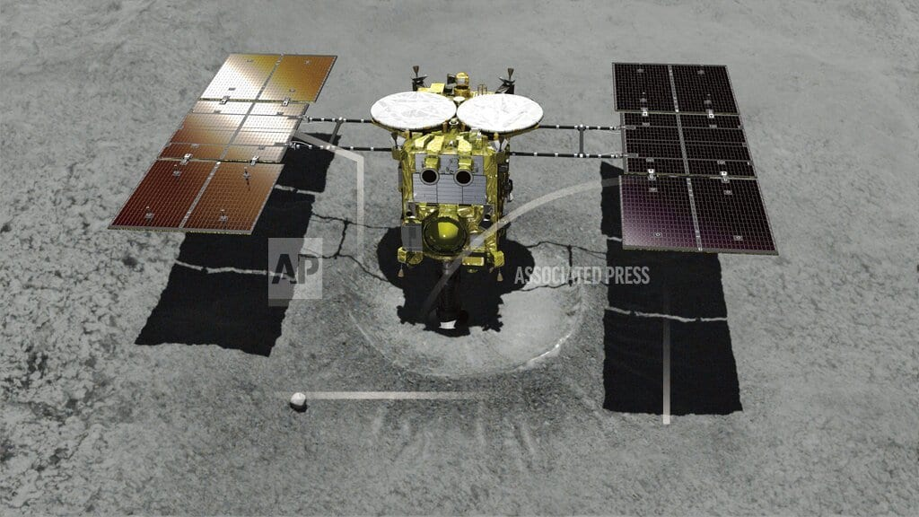 TOKYO | Japanese spacecraft to attempt landing on distant asteroid