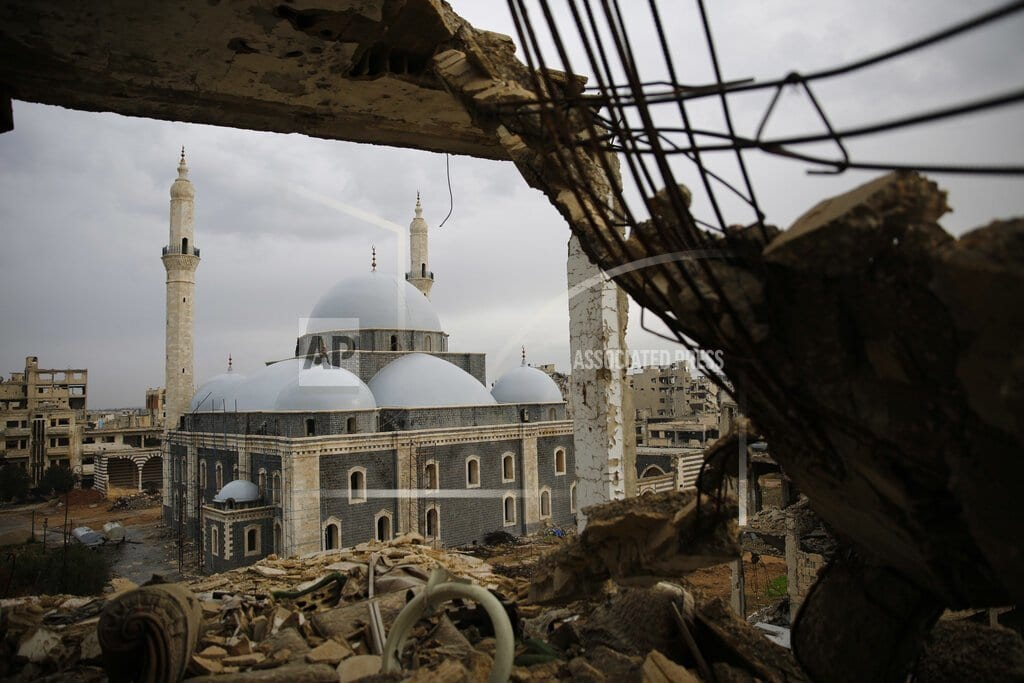 MOSCOW | Chechen religious leaders re-open landmark mosque in Syria