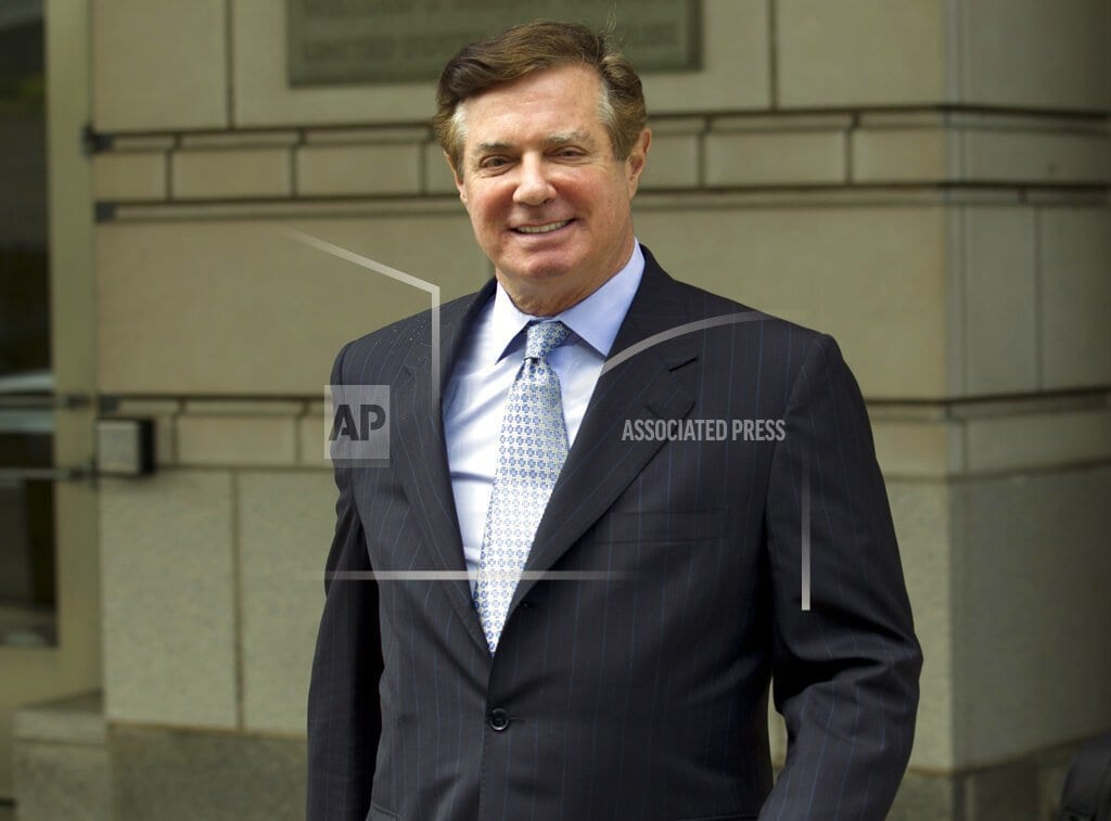 WASHINGTON | Mueller: Manafort 'brazenly violated the law' for years